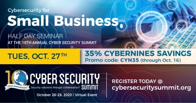 Cybersecurity for Small Business – Seminar