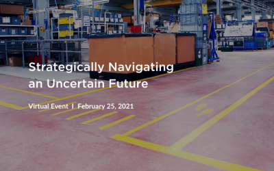 Virtual Workshop: Strategically Navigating an Uncertain Future
