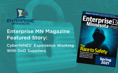Enterprise MN Magazine Featured Story: CyberNINES' Experience Working With DoD Suppliers