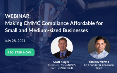 Webinar: Making CMMC Compliance Affordable For Small And Medium-Sized Businesses