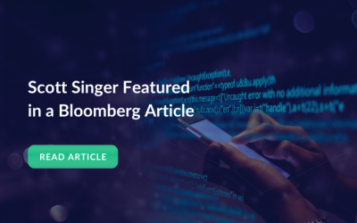 Scott Singer Featured in a Bloomberg Article